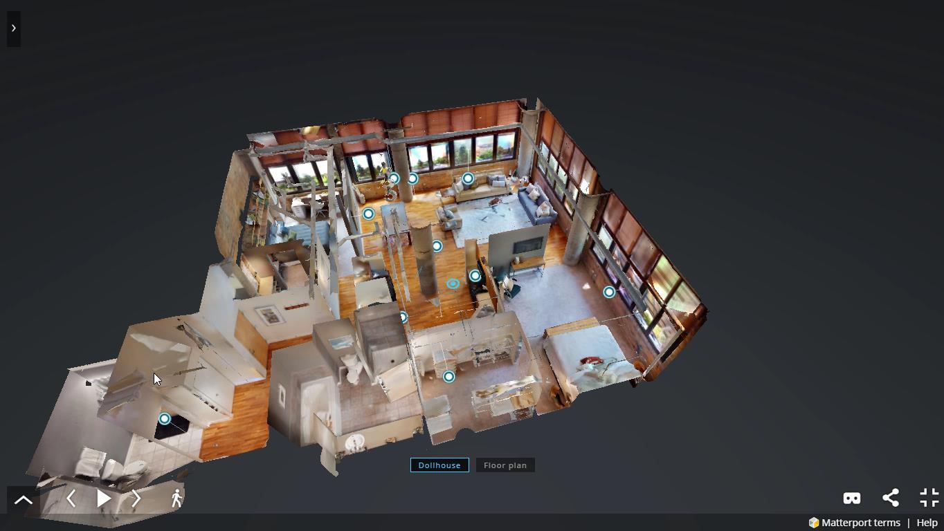 visitas virtuales con matterport